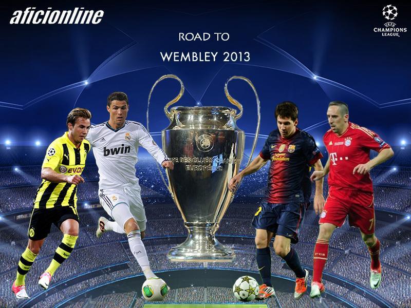 La final se disputará el 25 de mayo en la catedral de Wembley.  (infografìa:Criss Lobo)