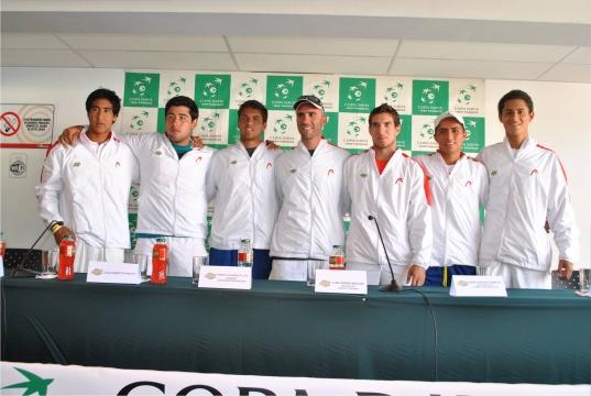 Duilio Beretta, Mauricio Echazú, Sergio Galdos, Jorge Brian Panta, Rodrigo Sánchez y Juan Pablo Varillasson los seleccionados por Lucho Horna para conformar el equipo para la Copa Davis.