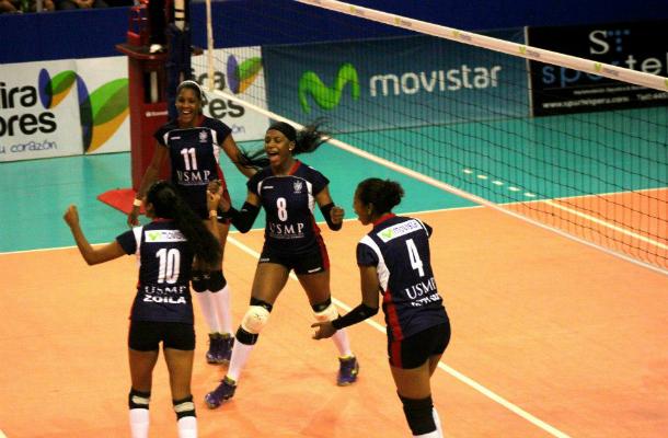 En el último encuentro UCV venció por 3 – 1 a la USMP (FOTO: elpoli)