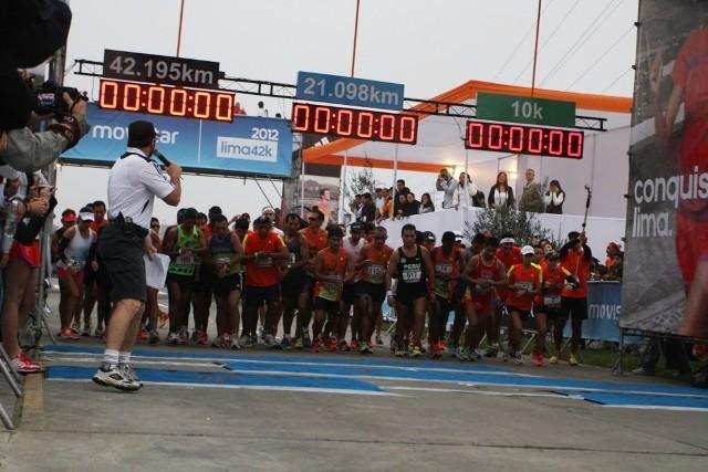 La partida de la maratón 42K será a las 8.30 en el distrito de San Isidro (Foto: Serperuano).