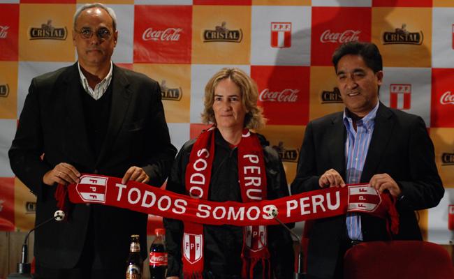Marta Tejedor es una entrenadora con bastante experiencia sudamericana (Fotos: Aficionline.com / Edgar Olivera).