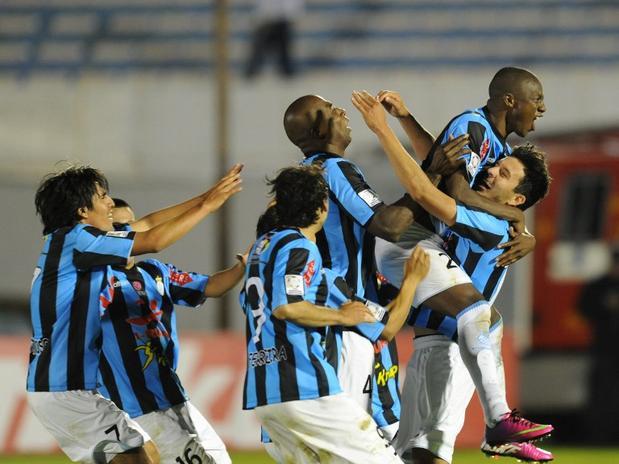 """El próximo rival del """"Garci"""", se define entre Santa Fe y Gremio (Foto: Terra Deportes)."""