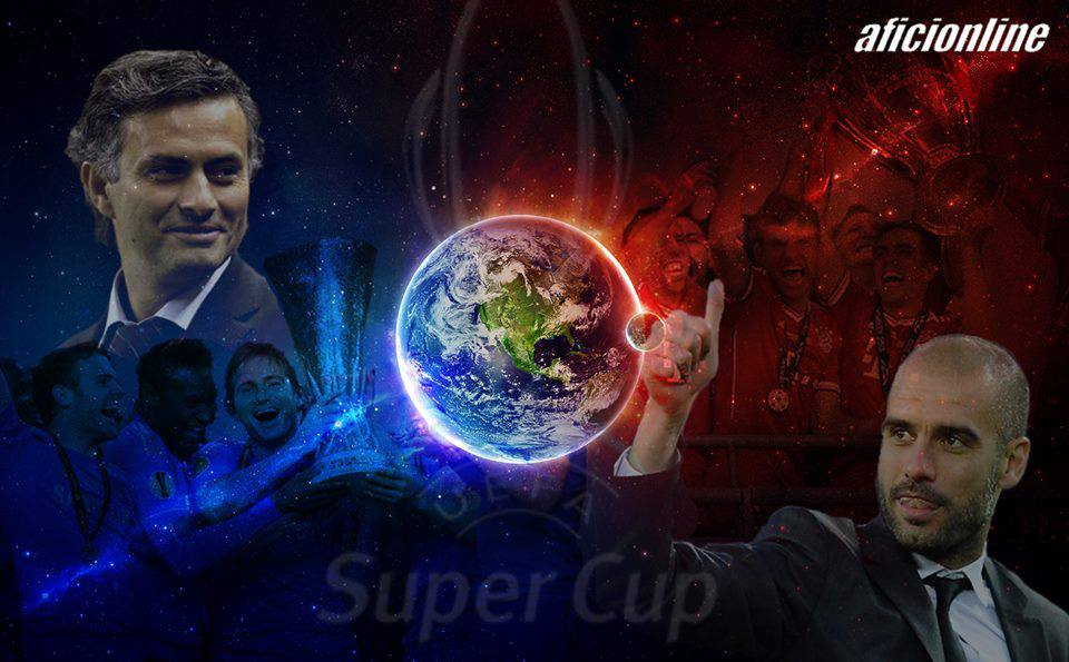 Mourinho y Pep Guardiola se volverán a ver las caras (Imagen: Criss Lobo).