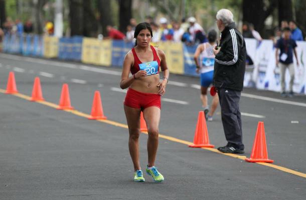 Kimberly es nuestra única atleta en competencia (Foto: Elpoli).