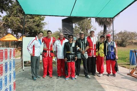 La delegación peruana está con buenos ánimos para afrontar este Mundial de Escopeta 2013 (Fuente: ipd.gob.pe)