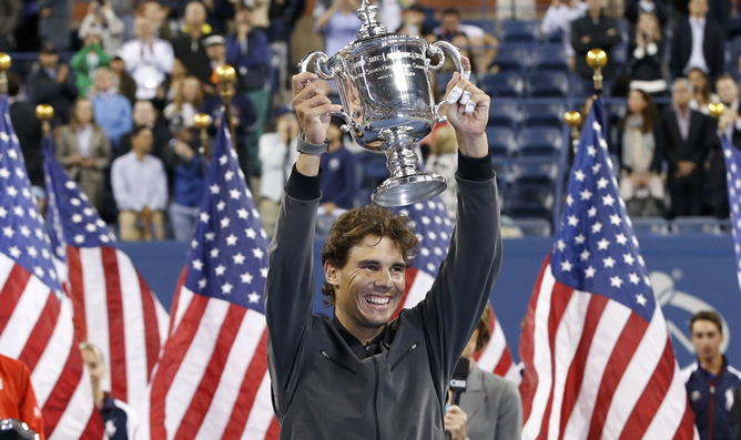 Nadal obtuvo su décimo trofeo de la temporada. (Foto: cadenaser.com)