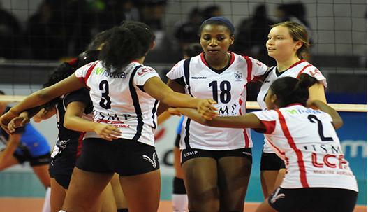 Las guerreras siguen siendo el mejor equipo bloqueador del torneo  (Foto: CMD).