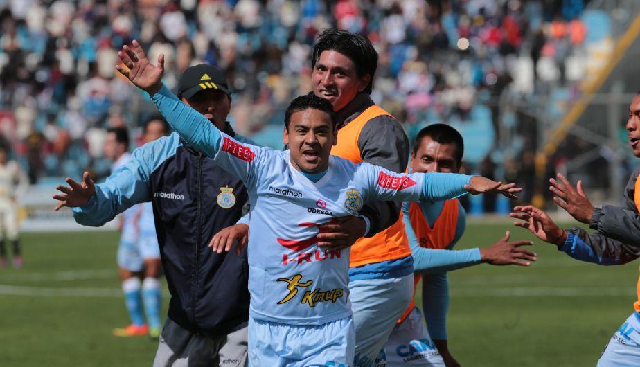 El gol del 'Chapu' puede ser crucial para las aspiraciones de Garcilaso al campeonato (Foto: Peru21.pe).