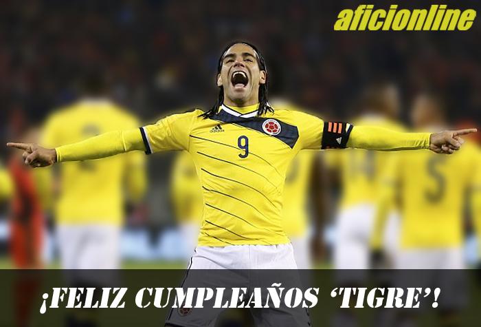 Hoy está de cumple Falcao (Imagen: Héctor Montoya / Aficionline.com).