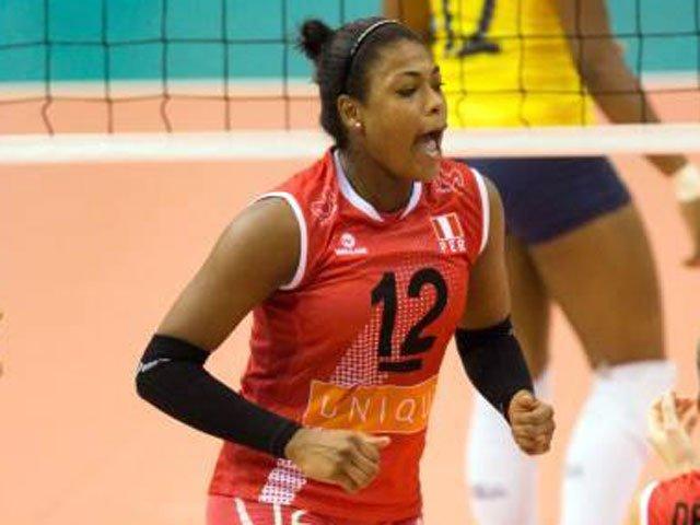 La voleibolista jugó el Torneo Sudamericano de Clubes con la selección peruana sub-23  (Foto: FIVB)