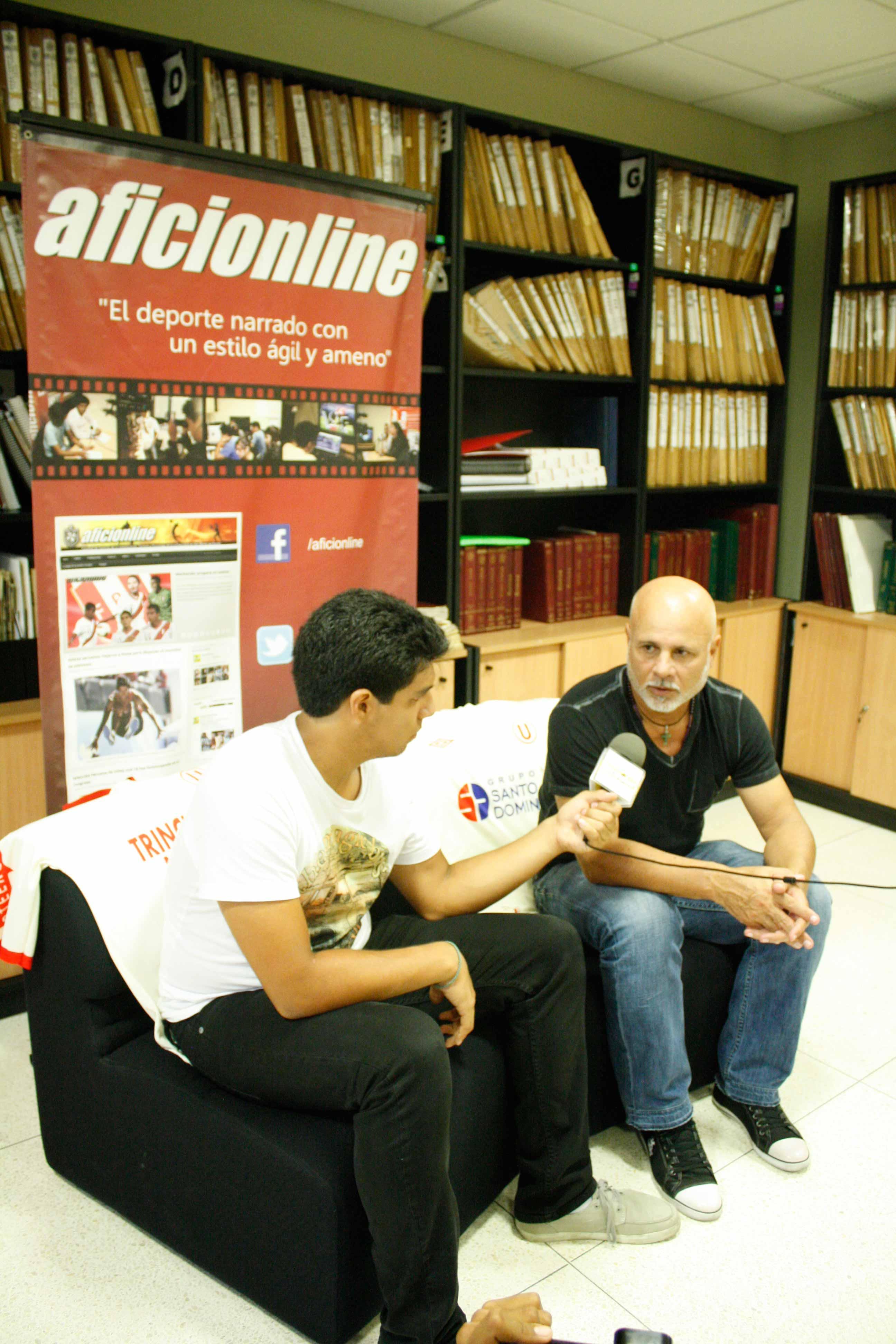 Nunes se muestra optimista a pesar de la situación actual de la 'U' y Comizzo (Foto: Nelson Arias / Aficionline.com).