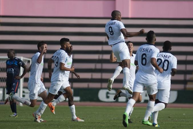 El colombiano Perea marcó el segundo gol de la tarde (César del Águila / Taller de Fotografía / Aficionline.com).