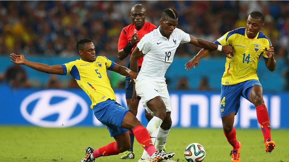 Ecuador no pudo con los franceses y se va del Mundial.