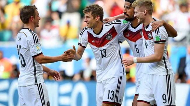 El atacante Thomas Muller fue la figura del partido marcando un Hat trick.