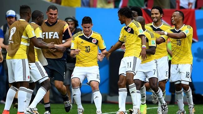 Los 'cafeteros' vencieron 2-1 al equipo de Drogba (Foto: FIFA.com).