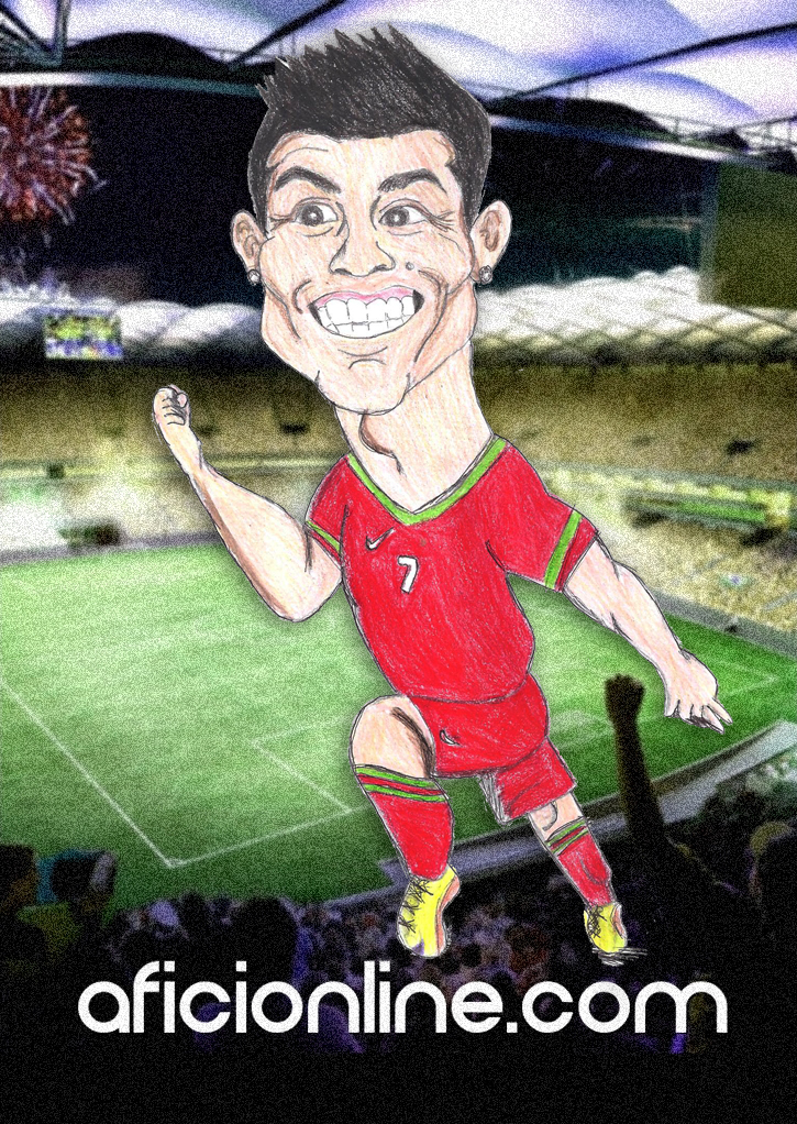 Caricatura realizada por Mariana Gutiérrez / Aficionline.com.