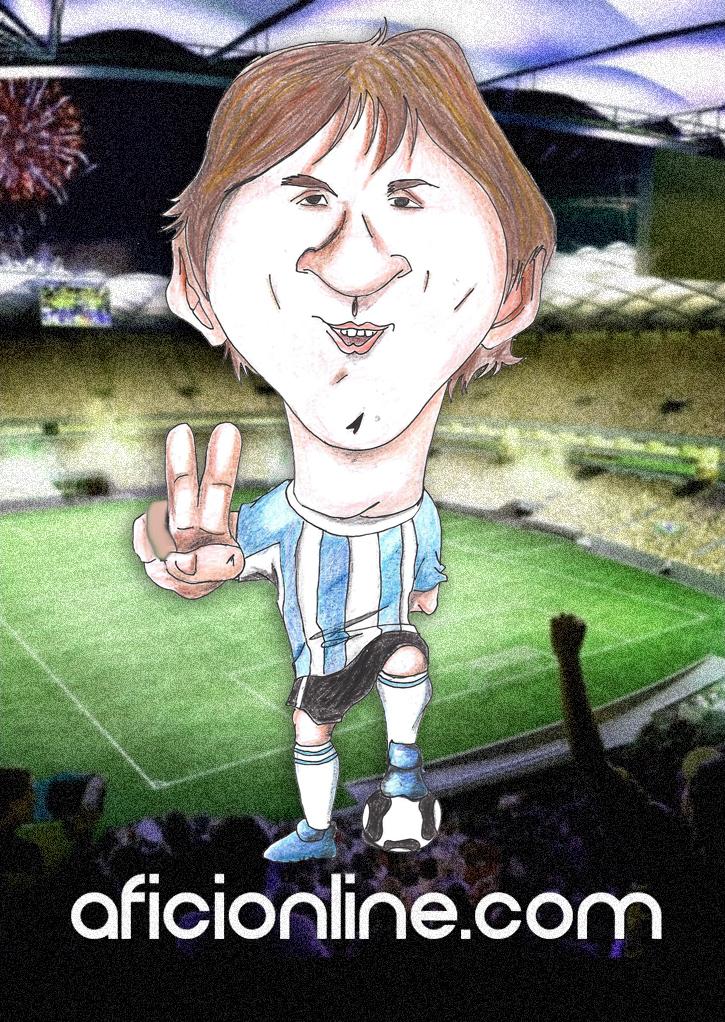 Caricatura realizada por Gerardo Magallanes / Aficionline.com.