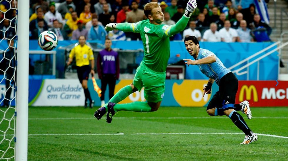Uruguay venció 2-1 a Inglaterra (Foto: FIFA.com).