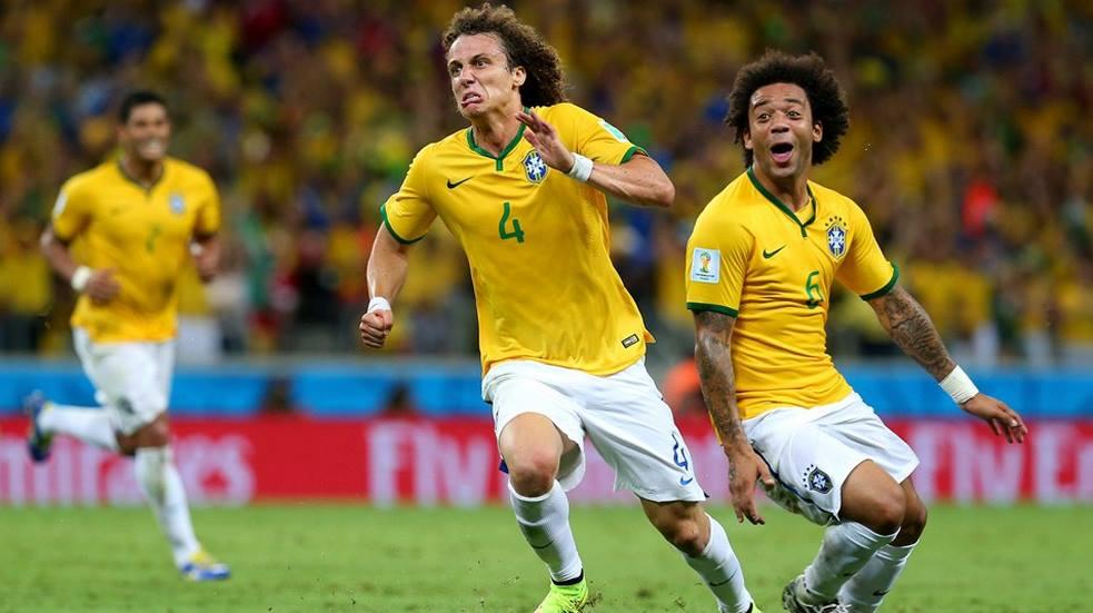 David Luiz marcó el primero de la tarde (Foto: FIFA.com).