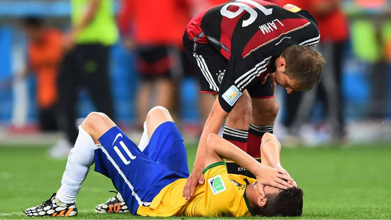 Brasil recibió una goleada histórica ante Alemania