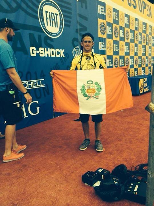 Peruano se ubica entre los 4 mejores juniors de la competencia (Foto:   Facebook Miguel Tudela).