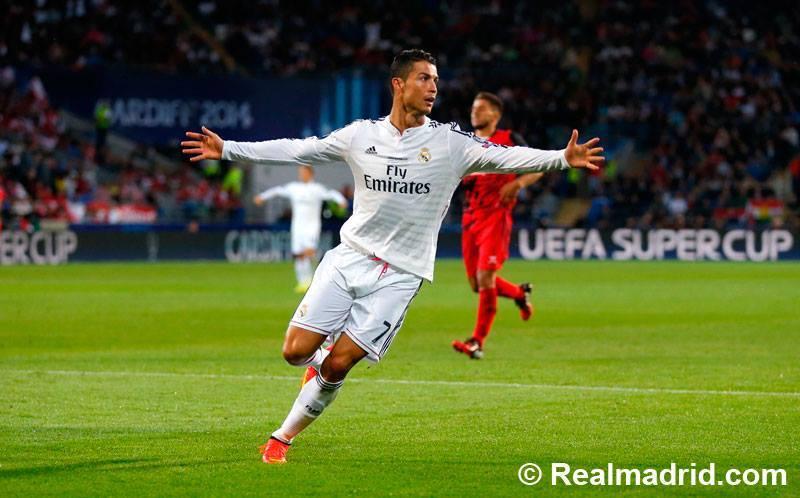 Cristiano Ronaldo fue el artillero ante el Sevilla (Foto: RealMadrid.com).