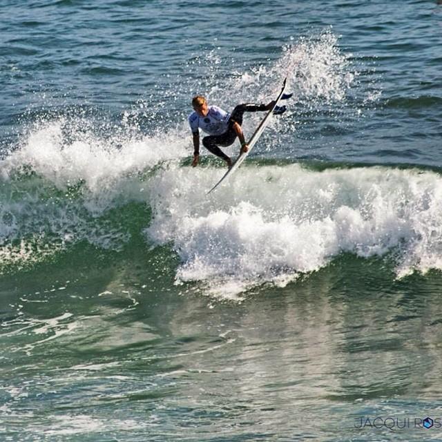 El surfer peruano viene de quedar cuarto en el Pro Junior US of Surfing (Foto: Miguel Tudela Instagram).