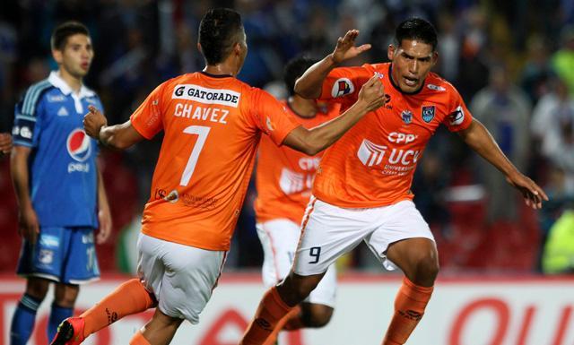 Andy Pando logró estrenarse con dos goles en torneos internacionales (Foto: LaRepública.pe).