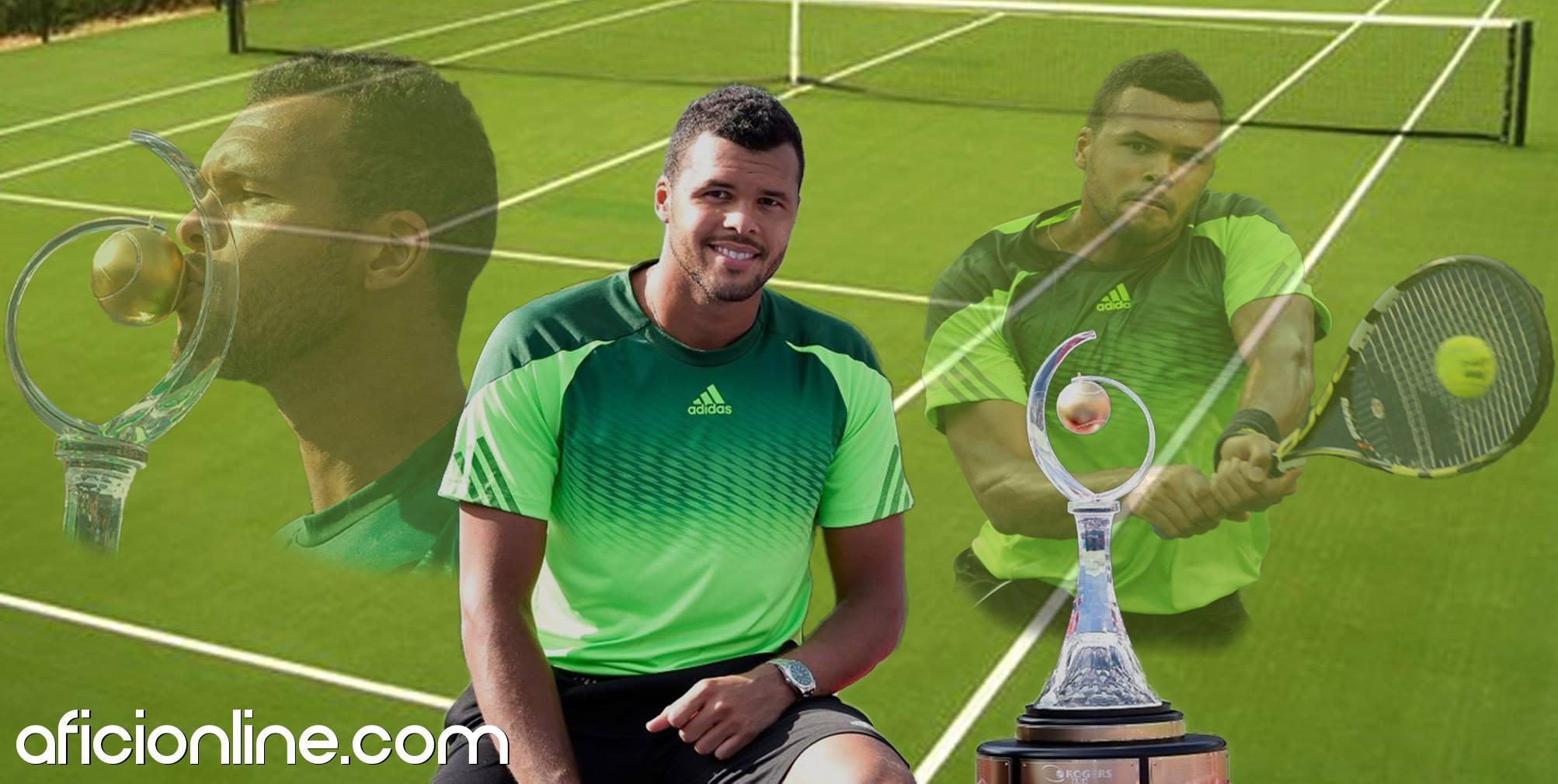 El tenista galo venció en la final a Roger Federer (Gráfica: Johnny López / Aficionline.com).