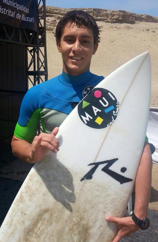 Los surfers peruanos dominaron la competencia (Foto: Facebook Maui and Sons Peru).