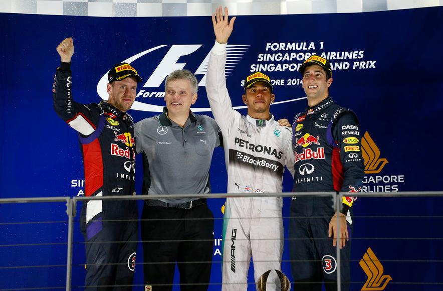 Lewis Hamilton ganó su séptima carrera de la temporada (Foto: Fia.com).