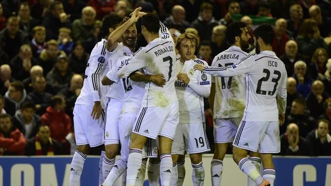 Los merengues llegan imparables al choque contra los azulgranas (Foto: UEFA.com).