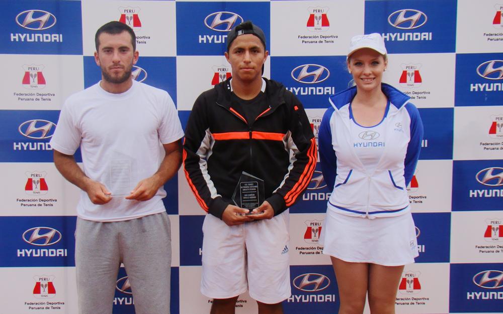 En la final le ganó a Jorge Panta (Foto: Tenis Perú).