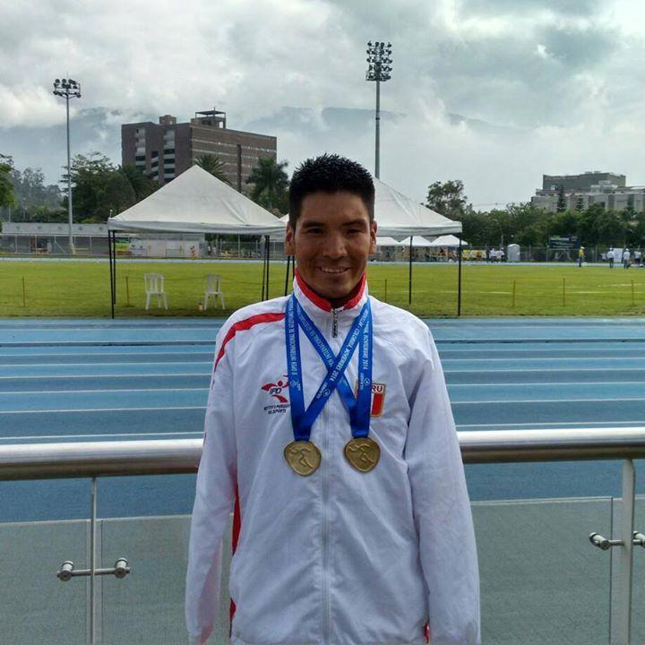 El fondista nacional logra sumas dos medallas más a su excelente carrera (Foto: www.facebook.com/efrain.sotacuroquispe ).