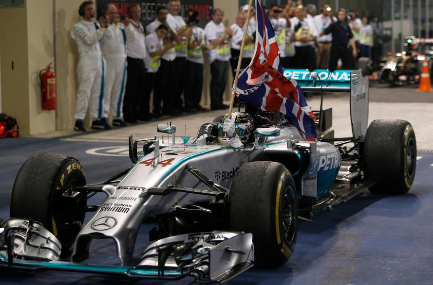 Con 11 victorias y 384 puntos, Hamilton se convierte en bicampeón mundial de la categoría (Foto: Fia.com)