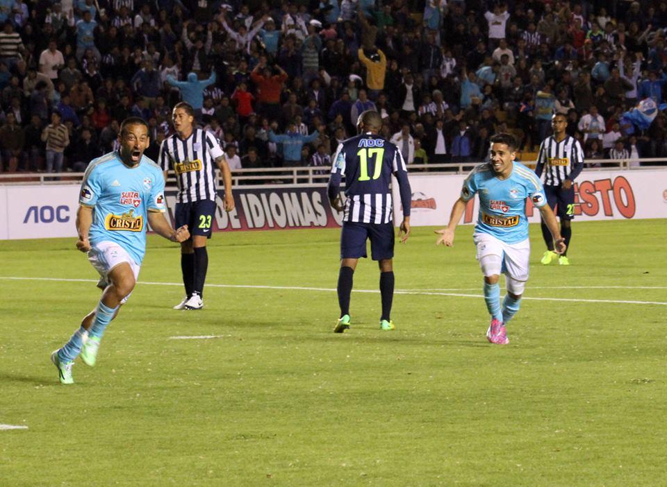 Sergio Blanco suma nueve goles en dieciseis partidos (Foto: Facebook.com/clubsportingcristalper)
