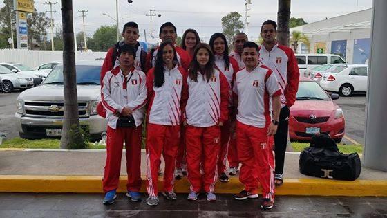 La delegación peruana en Aguascalientes, México (Foto: Facebook Federacion Peruana Deportiva Peruana de Taekwondo).