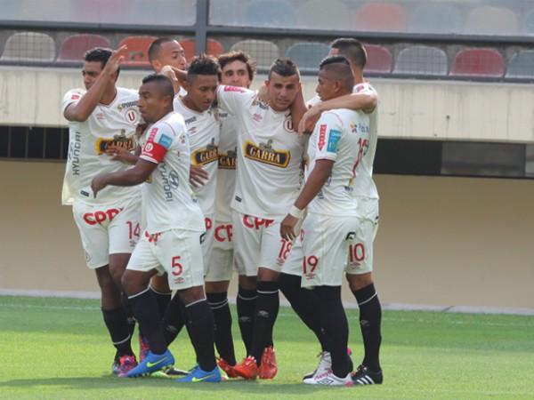 Líber Quiñones anotó su segundo gol con Universitario de Deportes y el más rápido en el Torneo del Inca (Foto: Líbero).