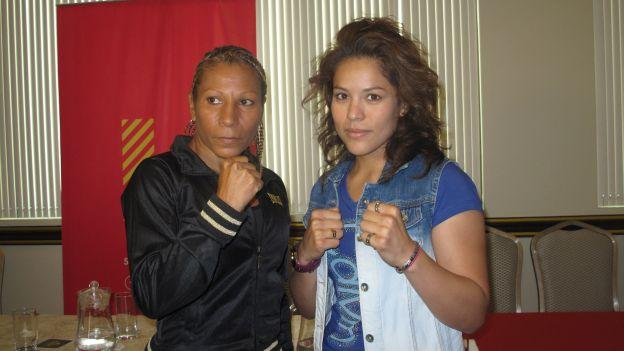 Carolina Álvarez es la primera pugilista profesional de su país (Foto: depor.pe).