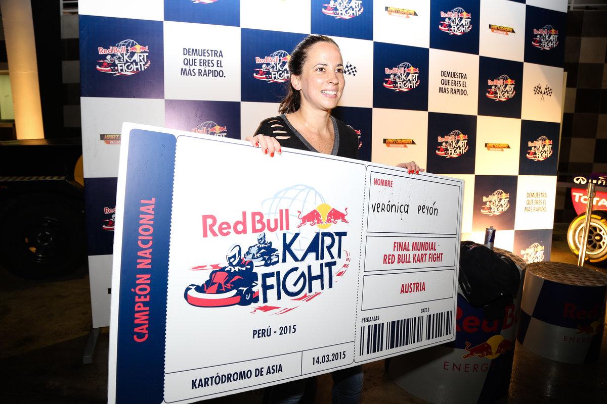 Verónica tuvo la vuelta más rápida con un tiempo de 0:59.841 (Foto:redbull.com).