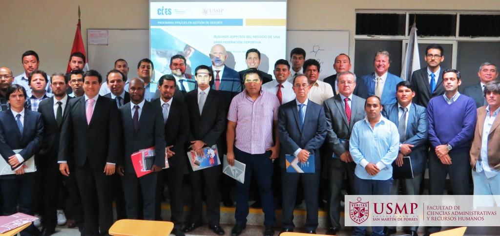 La USMP es la única entidad universitaria en el Perú que dicta este tipo de diplomados deportivos (Foto: USMP).