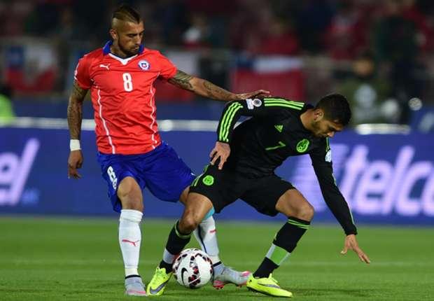 Mexicanos se enfrentarán a Ecuador este viernes en Rancagua (Foto: Copa América 2015)