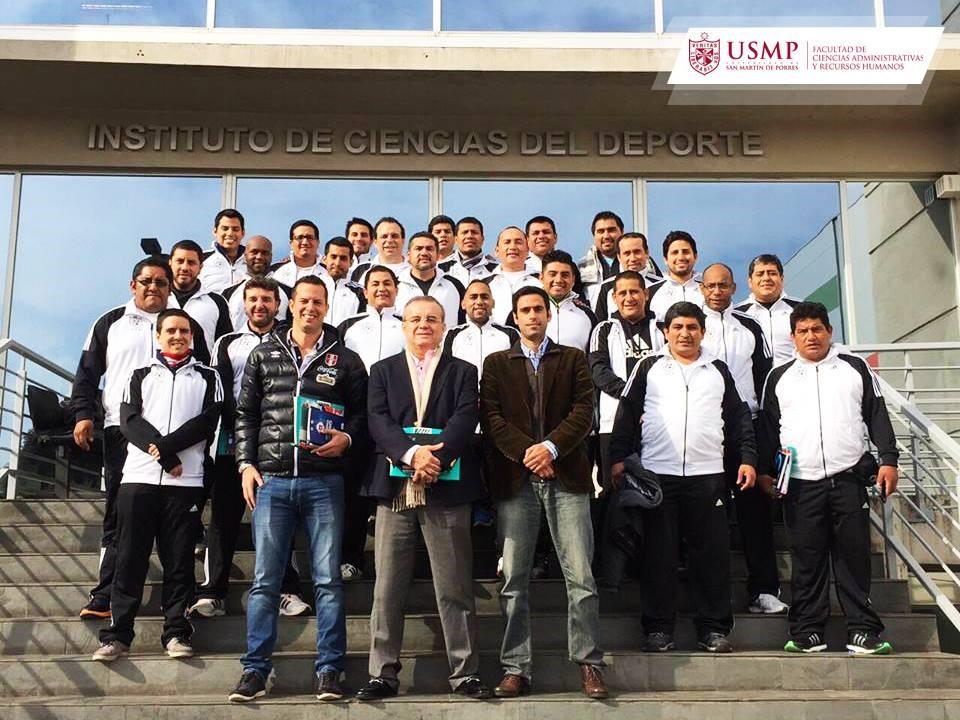 Alumnos de la USMP adquieren conocimientos a cerca del deporte (Foto: USMP).