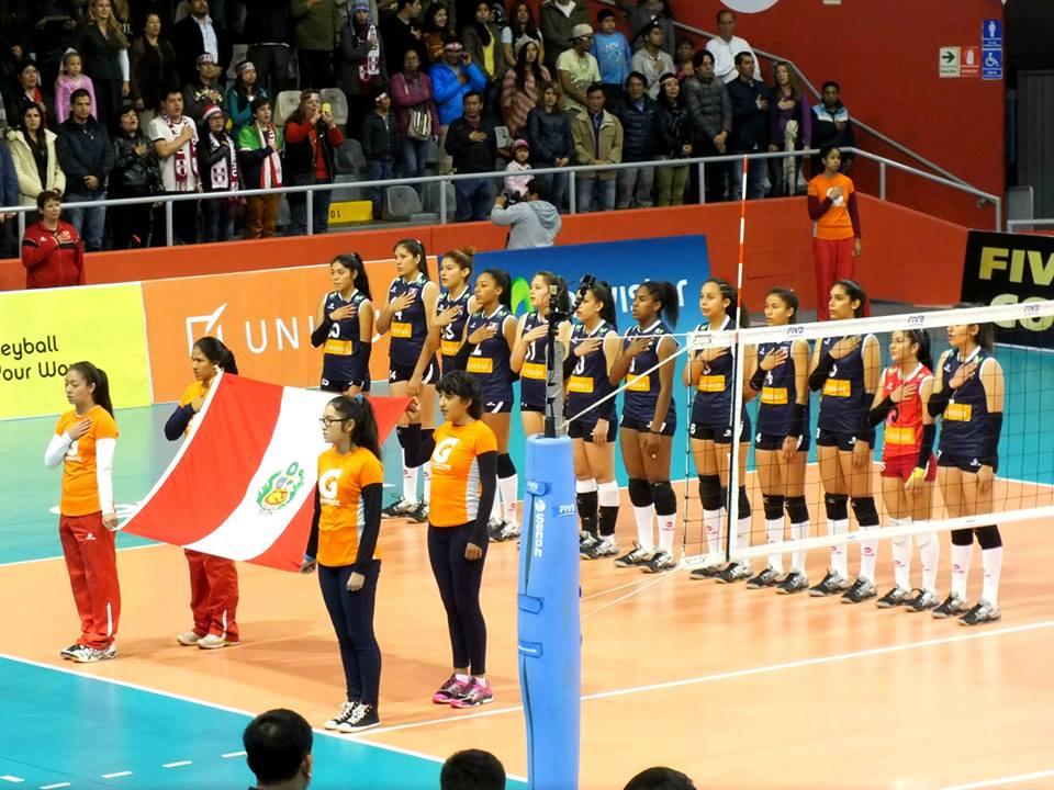 Selección peruana de vóley obtiene su primera derrota en el Mundial de Vóleibol Sub 18