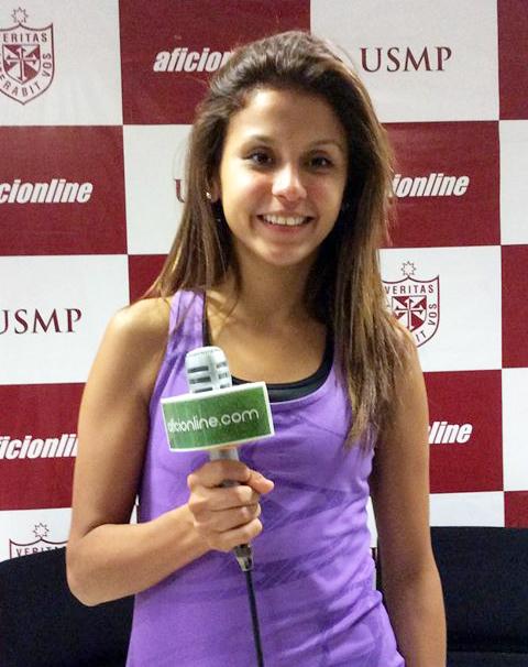 Diez Canseco es la actual campeona panamericana de taekwondo en la categoría 49 kilos.