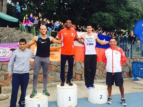 Martínez Chiroque tiene el récord nacional luego de superar el de Fernando Acevedo, con un tiempo de 10.30 segundos (Foto: Facebook Andy Martínez)