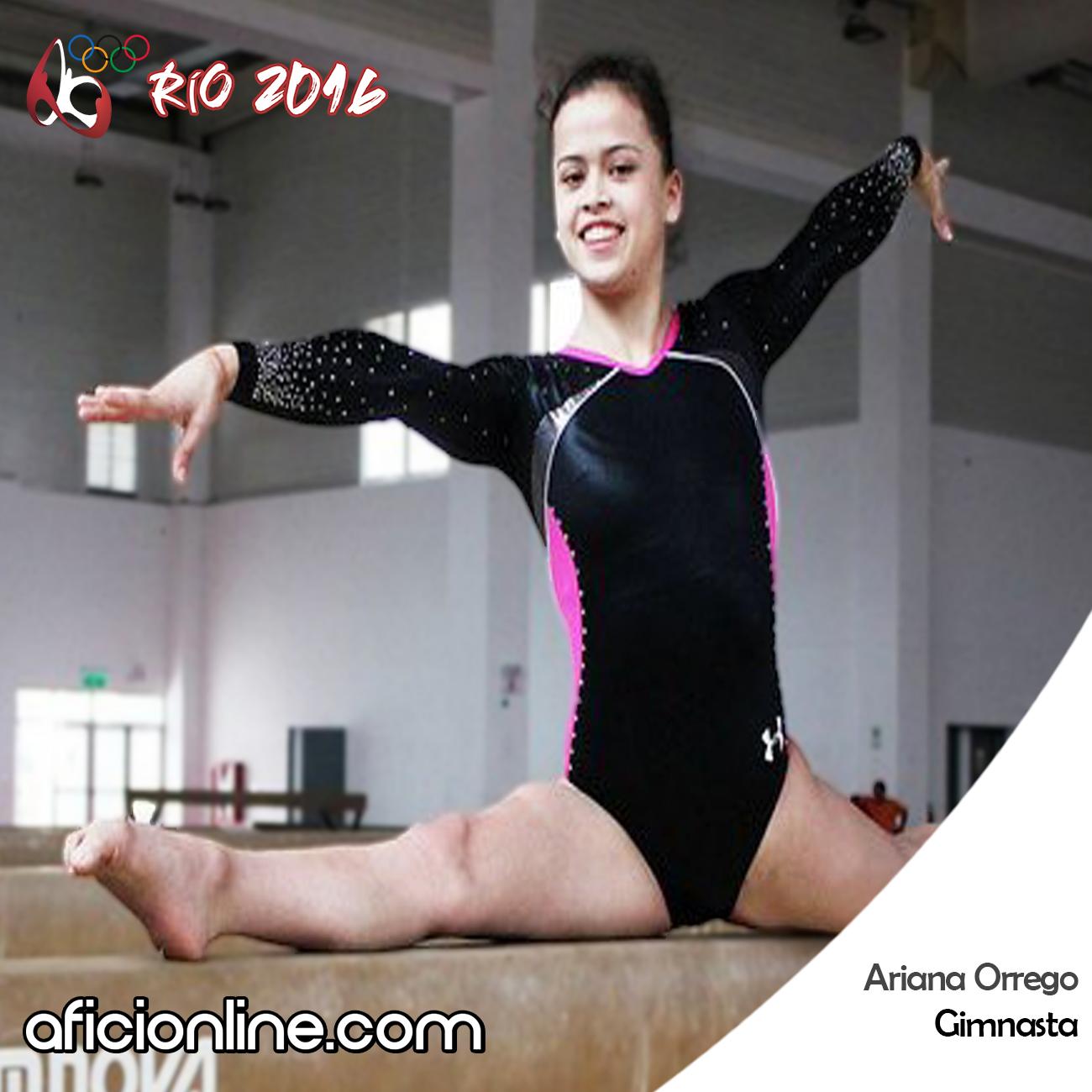 Ariana Orrego rio 2016 2