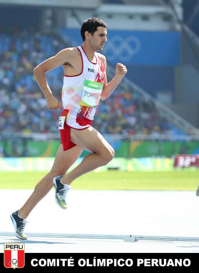 David Torrence está participando en sus primeros Juegos Olímpicos.