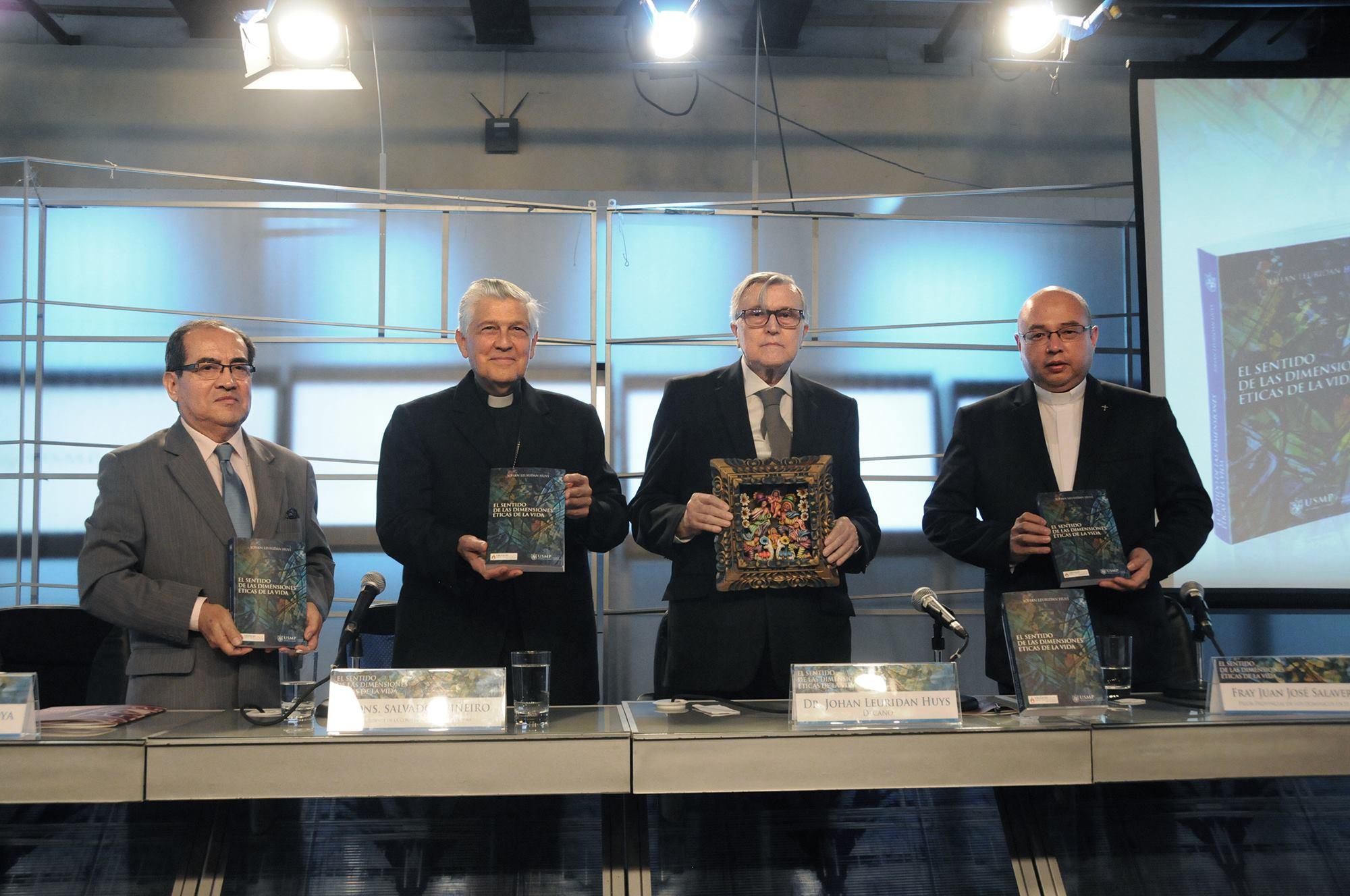 El Sentido de las Dimensiones Eticas de la Vida Nuevo Libro Johan Leuridan Huys FCCTP USMP 1