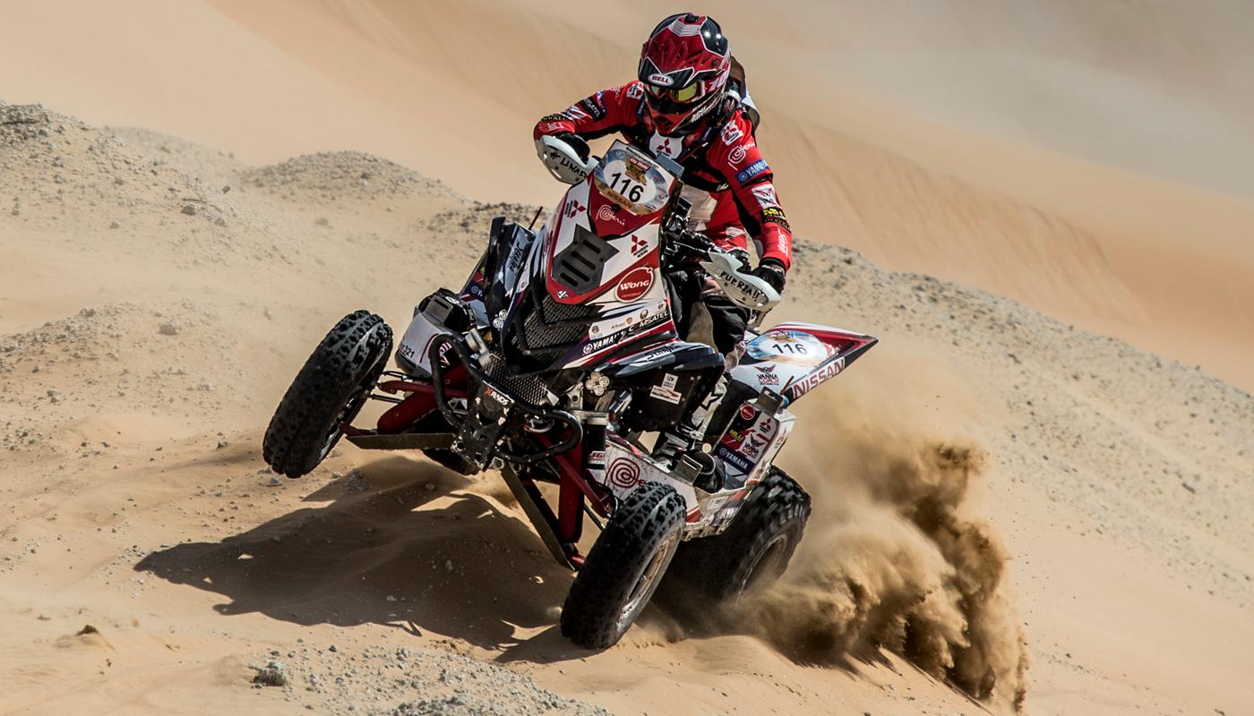 El peruano logró el séptimo puesto en el Rally Dakar 2016 (Fuente: Nitro.pe)